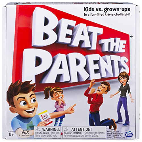 Spin Master Games Beat the Parents, Family Board Game of Kids vs. Parents...