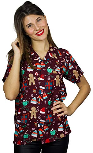 Camisa Navidad Marca King Kameha