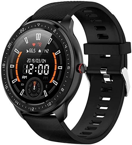 JSL Reloj inteligente Z06 con pantalla completa táctil para hombres Ip67, impermeable, monitor de presión arterial, monitor de frecuencia cardíaca