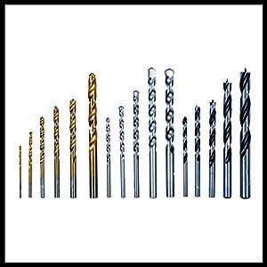Einhell Schlagbohrmaschinen-Set TC-ID 1000 E Kit (1.010 W, Bohrleistung Holz 32 mm, Metall 13 mm, Beton 16 mm, 13 mm Schnellspannbohrfutter, inkl. 16-tlg. Bohrer-Set und Tasche)