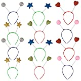 Funny Party Hats Head Boppers in Assorted Design-...