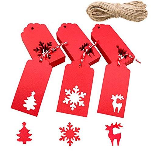 Etiquetas para Regalos de Navidad Marca Nuluxi