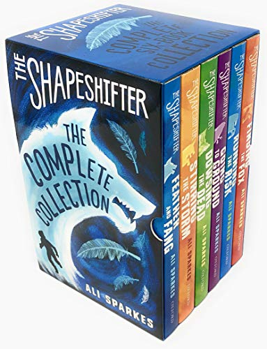 The Shapeshifter Series 6 Books Collection Box Set By Ali Sparkes (Finding the Fox, Running the Risk, Going to Ground, Dowsing the Dead, Stirring the Storm & Feather And Fang)