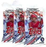 2021 Topps Series 1 Baseball Fat Pack (3 Packs)