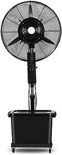 Aires acondicionados de tipo split Ventilador de pedestal Ventilador de pulverización industrial Ventilador de enfriamiento de piso Agregue agua Oscilante Ventilador de niebla al aire libre, Altura