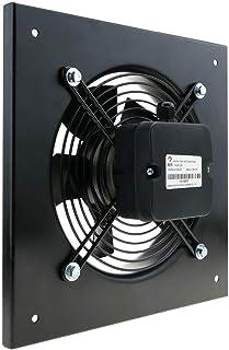 PrimeMatik - Extractor de aire de pared de 300 mm para