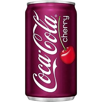 Cherry Coke Mini-Cans 7.5 Fl Oz  Pack of 12