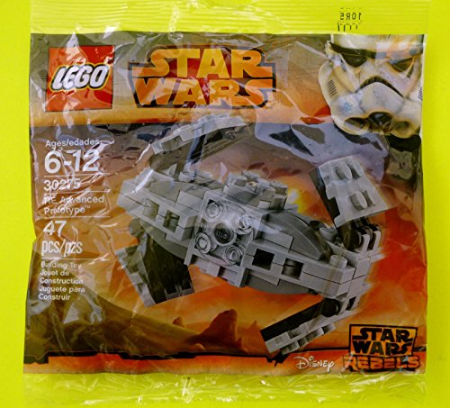 Lego Star Wars 30275 Mini Tie Advanced Prototype, Bausatz des Inquisitor Tie Fighters