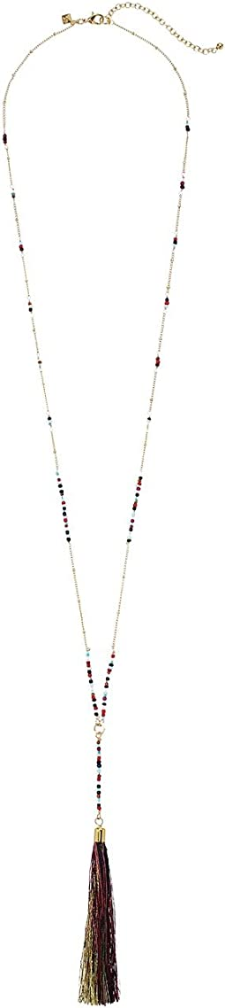 Rebecca Minkoff - Long Tassel Pendant Necklace