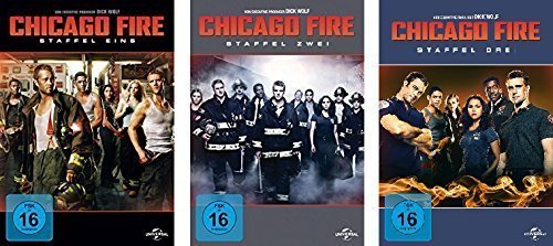 Chicago Fire - Staffel 1-3 (18 DVDs)