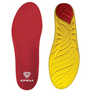Sof Sole Arch Full Length Comfort High Arch Shoe Insole for Men and Women