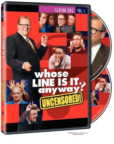 Whose Line Is It Anyway? - Season 1, Vol. 1 (Uncensored/U.S. Version) [RC 1]