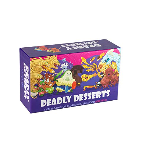 Deadly Desserts  A FamilyFriendly Card Game for People Who Like Food and Feud  Board Games for Adults and Kids