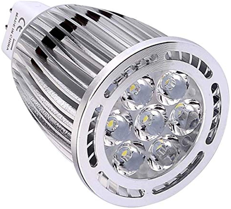 Oudan Light MR16 7W SMD 3030 600-700 LM Warmes Wei Cooles Wei Clear LED Scheinwerfer AC DC 12V (1Stk) (Farbe   KüWei) (Farbe   Cool Weiß)