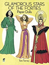 glamorous stars of the forties paper dolls for adults