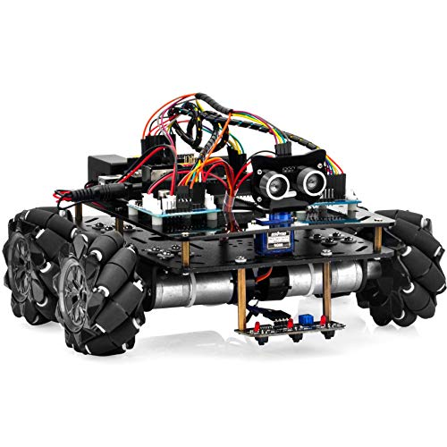 OSOYOO Omni-directinal Mecanum Wheels Robot Car Kit for...