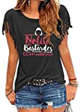 Kerlana Maglietta Nolite Te Bastardes Carborundorum Trend Accogliente Maglietta di Disegno d'avanguardia della Maglietta Casuale di Base Maglietta Unisex Unisex (Color : Black01, Size : L)