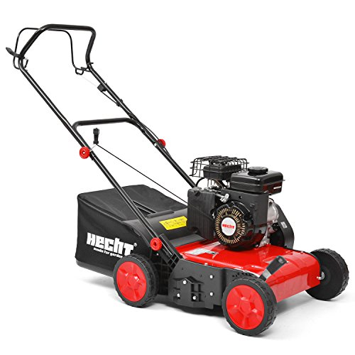 Petrol Lawn Aerator and Scarifier to promote a healthy garden lawn