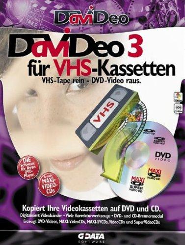 Preisvergleich Produktbild DaViDeo 3 für VHS-Kassetten