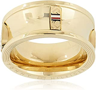 TOMMY HILFIGER WOMEN'S IONIC GOLD PLATED STEEL RINGS -2780036C