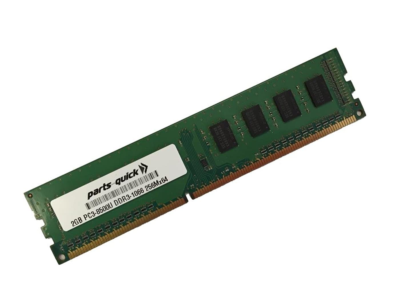 2GB Memory for eMachines EL1352G-01w DDR3 PC3-8500U 1066 MHz DIMM RAM (PARTS-QUICK BRAND)
