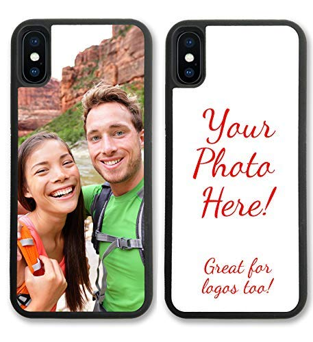 iPhone XR, Simply Customized Photo Phone Case Compatible with iPhone XR [6.1 inch] Personalized Your Picture or Image Printed On The Case Protective Case IPXR