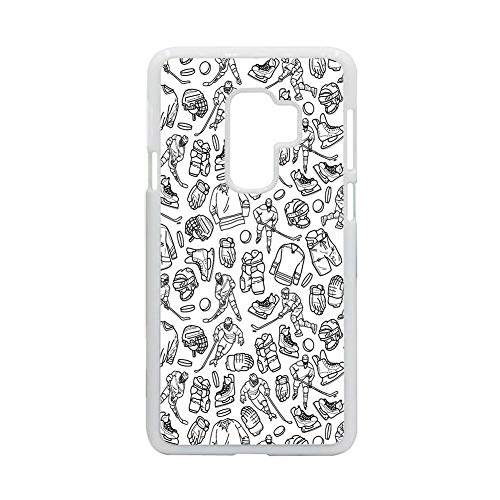 Shatterproof Use As S9 P Hard Plastic Shells Girl Design Hockey 5 Choose Design 94-1
