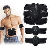 Entrenador de abdominales, Estimulador muscular abdominal EMS, Cinturón profesional de gimnasio en casa, Equipo de entrenamiento eléctrico para hombres y mujeres Máquina de entrenamiento de gimnasio