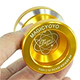 SQKJ KCHDL Yoyo Ball Gloden Fashion Magic YoYo N8 Dare to Do Alloy Aluminum Professional Yo-Yo Toy