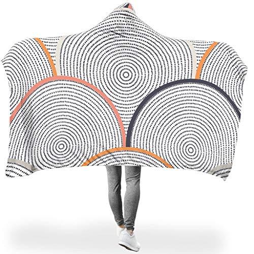 HXshqian Grafisch geometrie knuffeldeken / woondeken microvezel fleece bedbank deken