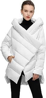 Women's Cloak Down Coat Hooded Winter Jacket