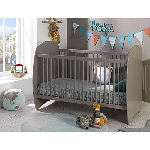 Alfred & Compagnie - Cuna evolutiva para bebé (70 x 140 cm), color morado