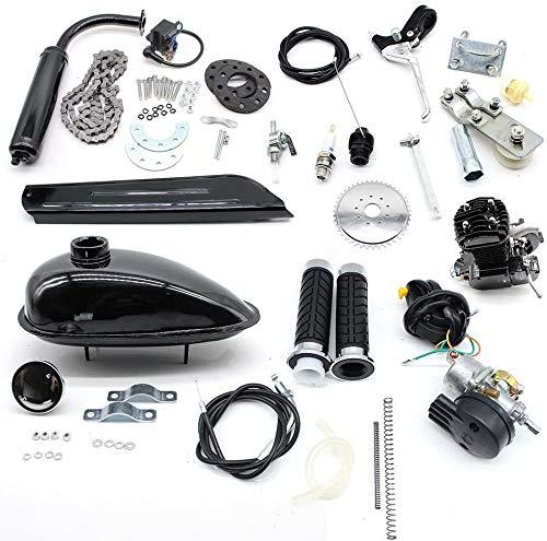 "50cc Fahrradmotor Kits, 2-Takt-Fahrradbenzinmotor Pedal Cycle Benzinmotor Kit, 30km / h für 26""28"" motorisierte Fahrräder"