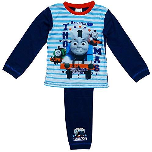 GetWivvit Jungen Thomas die Kleine Lokomotive Eisenbahn Rebel Pyjama Größen Von 18...