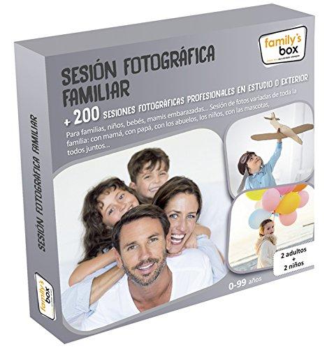 COFRE DE EXPERIENCIAS 'SESIÓN FOTOGRÁFICA FAMILIAR' - Más de 200 fotográficas en estudio o exterior