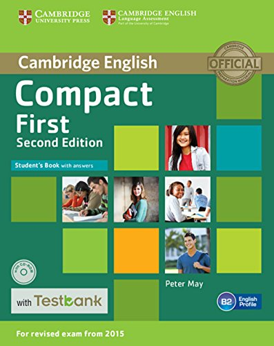 Testbank Compact First Second edition. Student's Book with answers with CD-ROM with Testbank