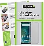 dipos I 6X Schutzfolie matt kompatibel mit Xiaomi Mi A2 Lite Folie Bildschirmschutzfolie