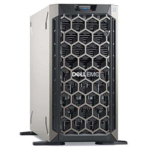 Dell PowerEdge T340 Tower Server, Intel Xeon E-2236, 16GB RAM, 2x 480GB SSD, Dell 3 YR WTY + EuroPC Warranty Assist, (Renewed)