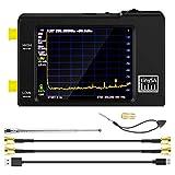 TinySA Handheld Tiny - Analizzatore di spettro con schermo tattile da 2,8', con due ingressi, 0,1 MHz-960 MHz, MF/HF/VHF/UHF, generatore di segnale