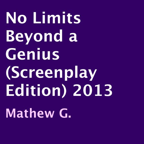 No Limits Beyond a Genius audiobook cover art
