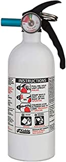 Kidde 466179MTL 2 Lb 5-B:C White Disposable Marine 5 Fire Extinguisher
