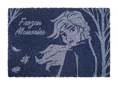 Erik Disney Frozen Deurmat, Kokosnoot Coir, Multi kleuren, 40 x 60 cm