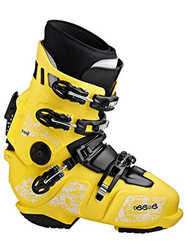 Deeluxe Free 692014 Scarpone rigido da snowboard, da uomo, giallo, 28.5