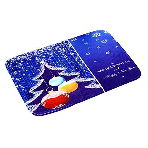 JoyRolly Alfombras Populares de Navidad Moderna Alfombra de Franela para el hogar Comedor Sala de Juegos Sala de Estar decoración 32 patrones-40 * 60 cm (001) Carpet22