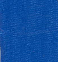 Oilcloth International Oil Cloth Solid Blue Fabric By The Yard