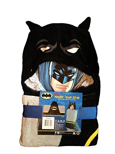 "Batman Hooded Towel Wrap/Poncho 24"" X 50"""