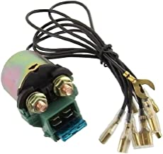 Starter Solenoid Relay Replacement For Honda Motorcycle 1980-83 GL1100 Gold Wing Interstate/Aspencade 1984-87 GL1200 Gold Wing Interstate/Aspencade NEW 35850-425-017