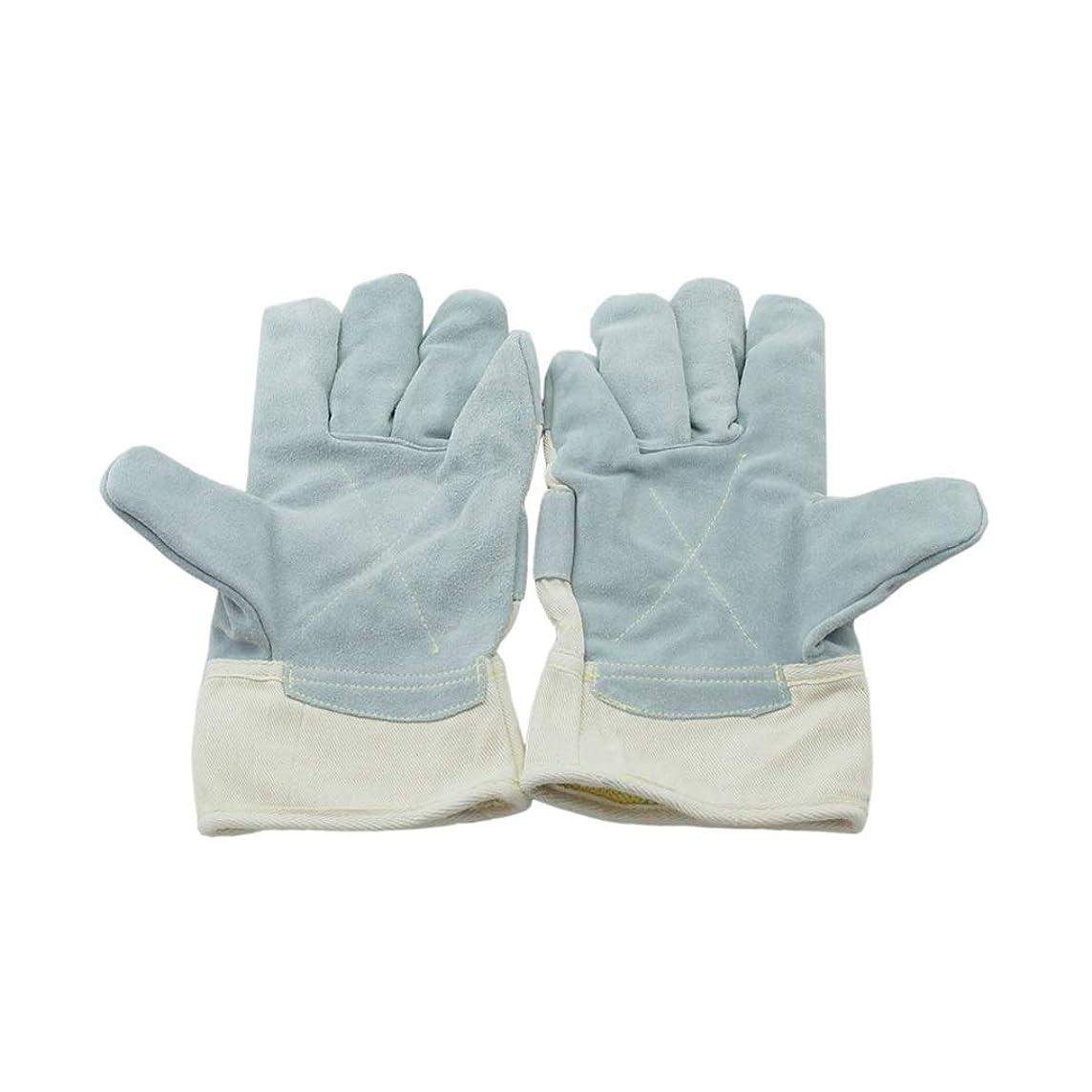どこでも聴覚障害者持続するIUYWL手袋 ヘビーデューティカットプルーフ手袋革作業用手袋機械的保護耐パンク手袋耐摩耗性高温手袋 IUYWL手袋