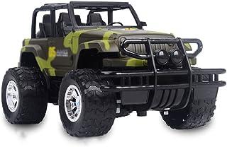 KPSHY Draadloze Afstandsbediening Off-road Voertuig, Oplaadbare Auto, Anti-collision Camouflage, Elektrische Kinderauto, J...