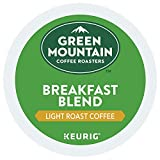 Green Mountain Coffee Breakfast Blend K-Cup Packs, 80 Count (Packaging May Vary)